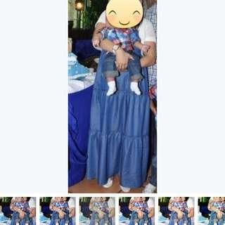 Maxi Soft Denim Dress