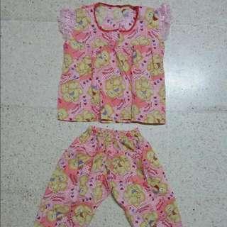 Pinkbear Pj's (2-3years)
