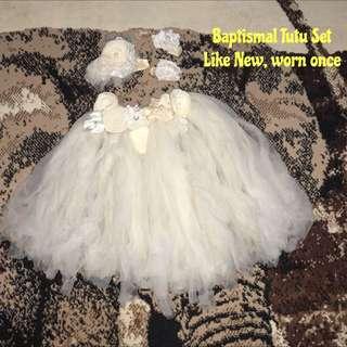 Baptismal Tutu Dress