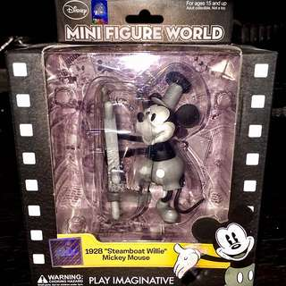 """Mini Figure World: 1928 """"Steamboat Willie"""" Mickey Mouse"""
