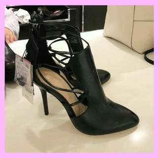 SALE!READY!! Zara Leather Killer Boots