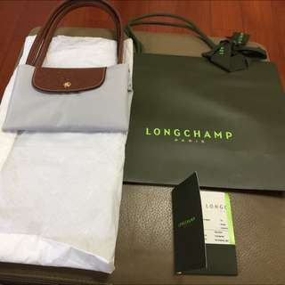Longchamp折疊手提包
