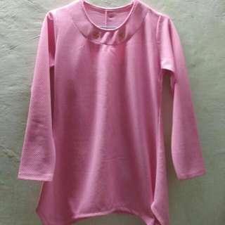 Atasan Warna Pink.