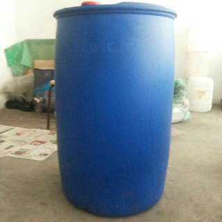 Used Metal And Plastic Drum