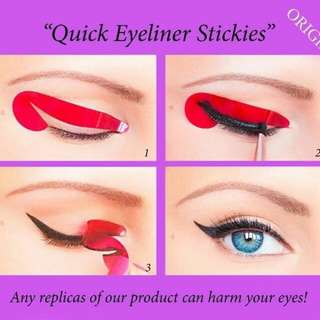 Quick Eyeliner Stickies / Eyeliner Sticker INSTOCKS