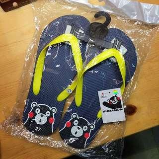 Kumamon slipper 熊本熊拖鞋/家居拖鞋