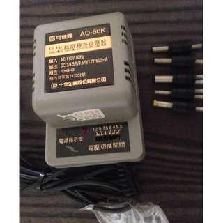 六段穩壓整流變壓器 (可佳牌 AD-60K)