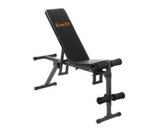 FID Flat Adjustable Bench 150Kg