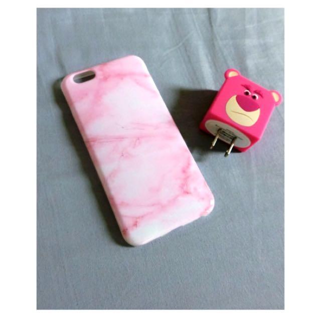 粉色石英手機殼(6/6s)