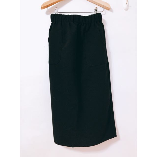 棉寬鬆長裙