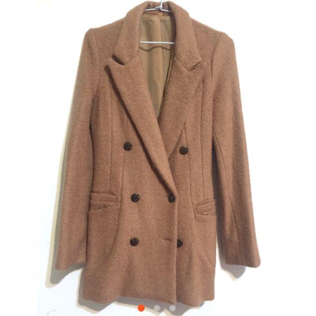 正韓西裝挺版修身大衣