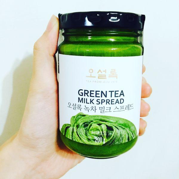 韓國超紅 抹茶牛奶抹醬