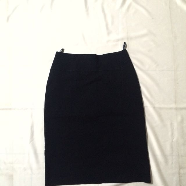 Accent Skirt Dark Blue