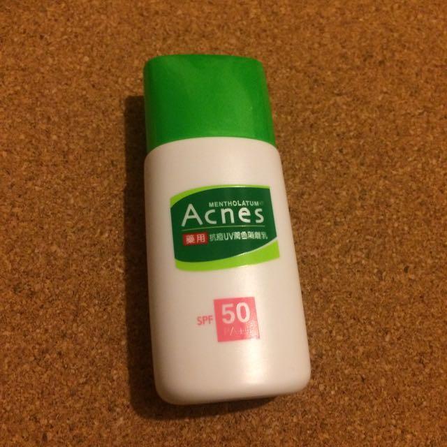 Acnes藥用抗痘UV潤色隔離乳30g