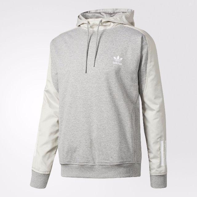 Adidas 帽T 灰