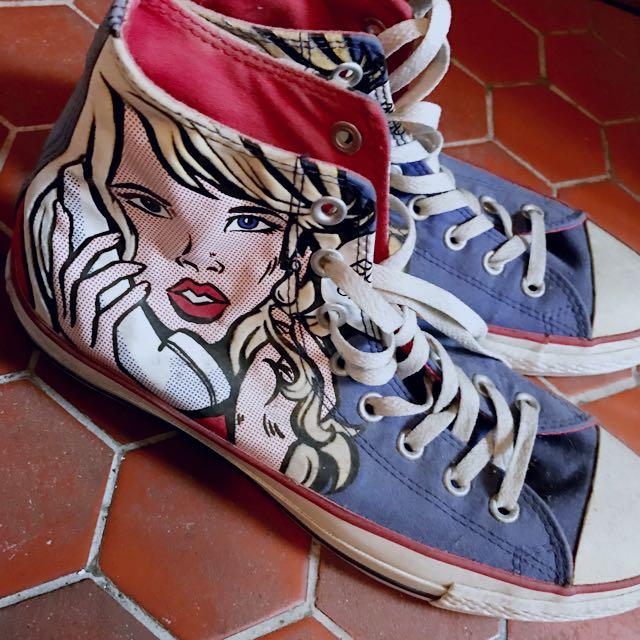 Allstar帆布鞋
