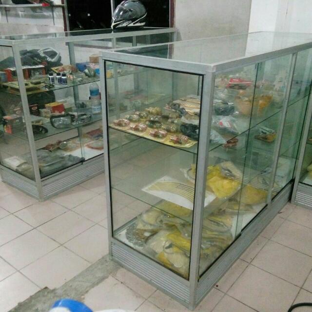 Almari Kaca Showcase Home Furniture