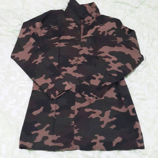 Army Shirt / Kemeja Army Loreng