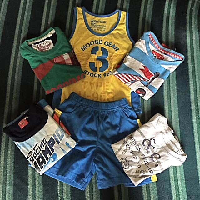 ASSORTED ORIGINAL Boys Shirts&Sando