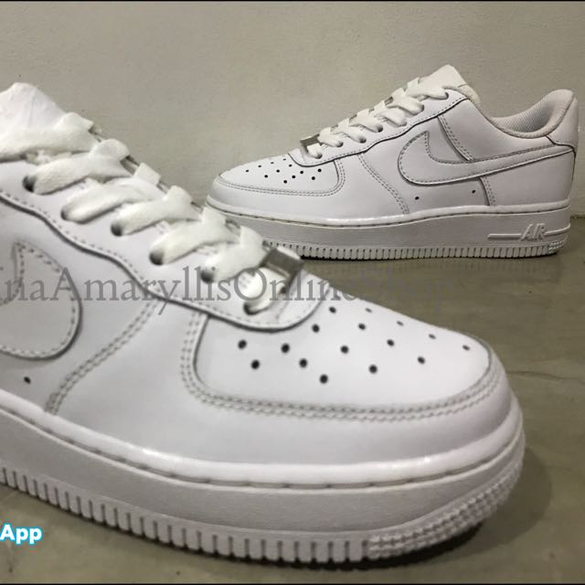 half off 71aef cedb9 Authentic Nike Air Force 1 AF1 Triple White size 5.5 & 6 ...
