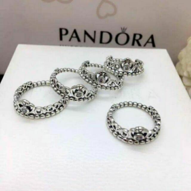 Authentic Pandora My Princess Tiara Ring