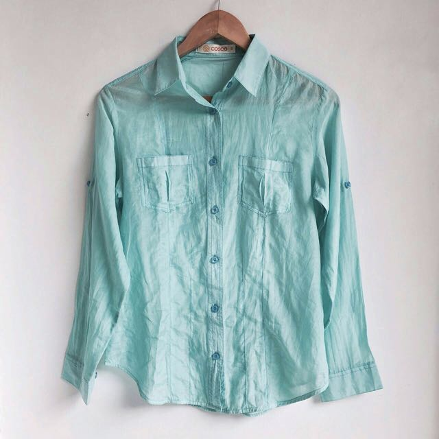 Babybblue Blouse