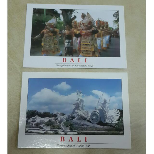 Bali Cultural Heritage Postcard / Kartu Pos Budaya Bali