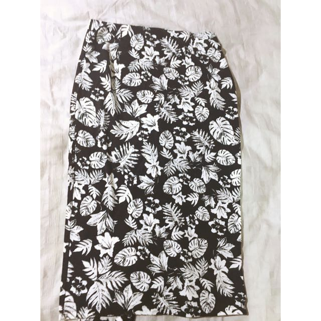 Bardot High Waisted Midi Skirt Ladies 10