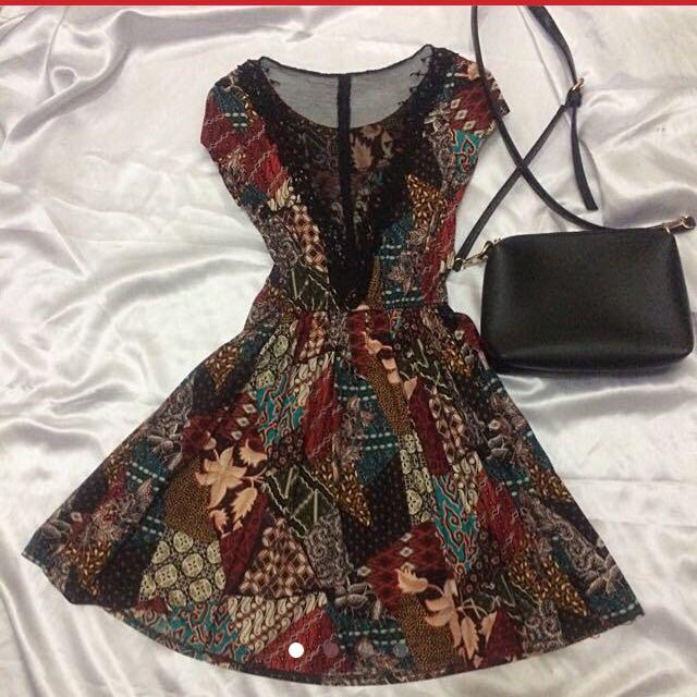 Batik Dress‼️