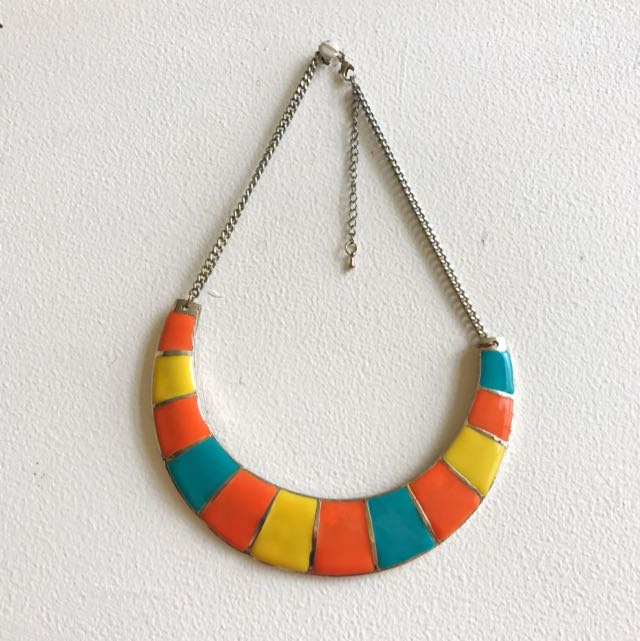 Block Colors Necklace
