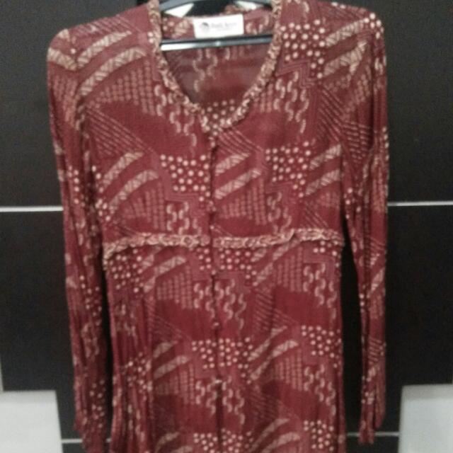 Blouse Batik Keris