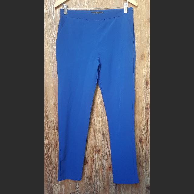 Blue Slacks/Trousers Size S