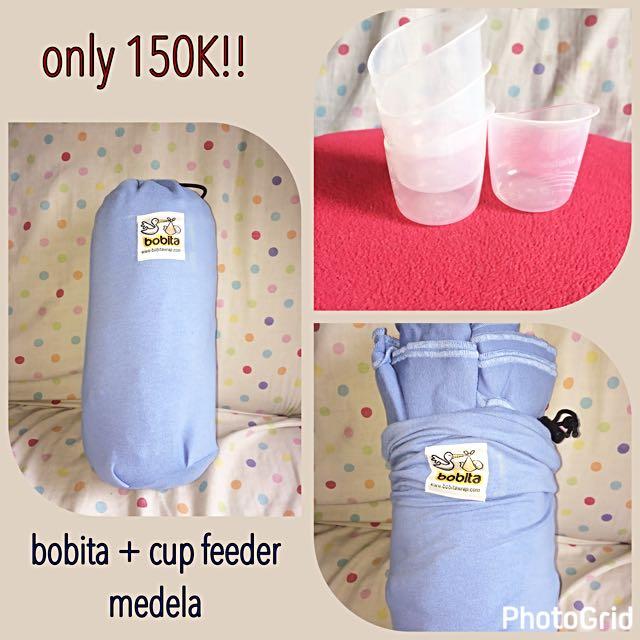 Bobita Wrap Gendongan Bayi Modern - Light Blue