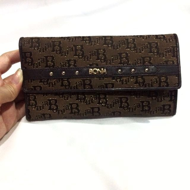BONIA Wallet Dark Brown