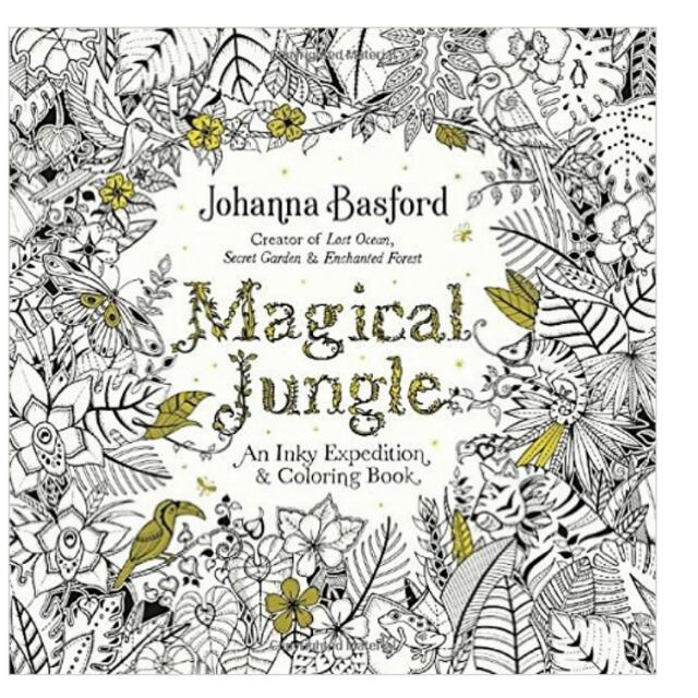 Brand New Sealed Magical Jungle Johanna Basford Coloring Book For