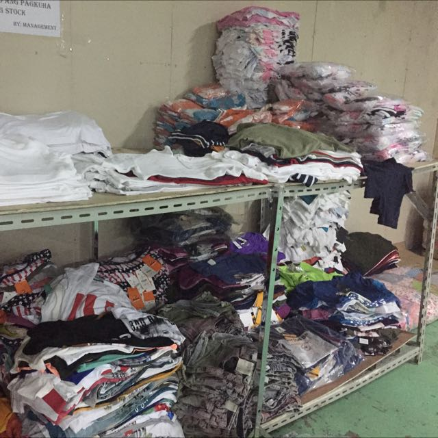 Branded Overruns Shirts and etc.