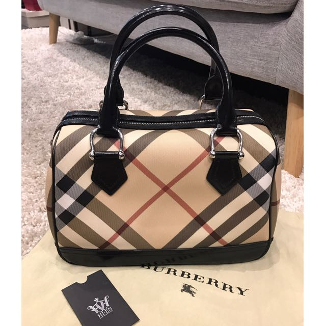 BURBERRY speedy 30 Authentic eb77df1ea4f56
