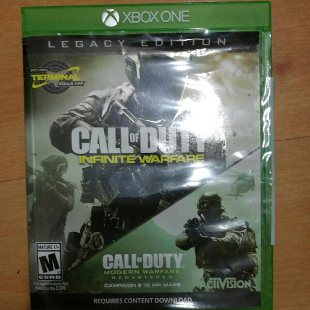 call of duty infinite warfare legacy edition contents