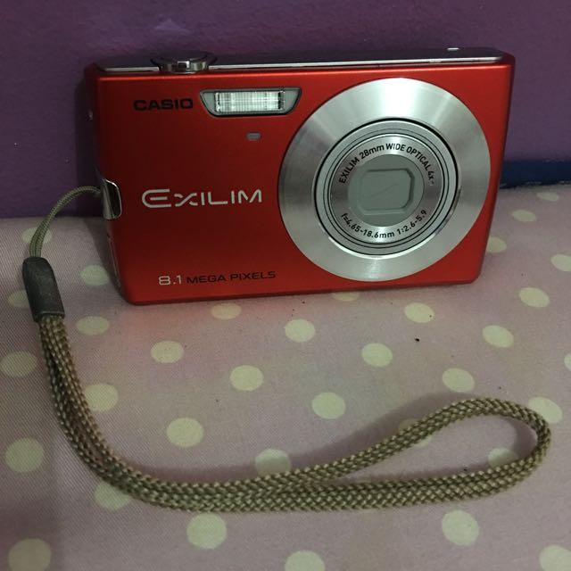 Casio Exilim Pocket Camera