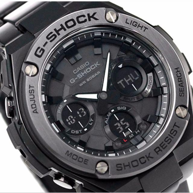 5b7dae17a4c Casio G-Shock G-Steel GST-S110BD-1B GST-S110BD GST-110D GST-110 ...