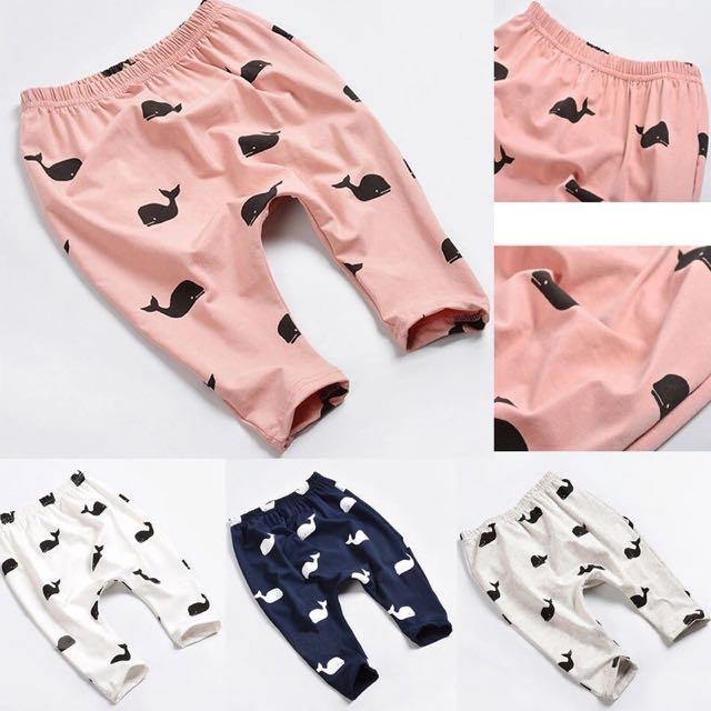 Cute Whale Soft Pant