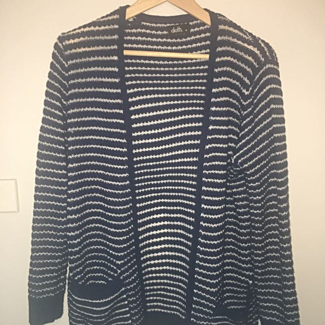 Dotti Striped Cardigan