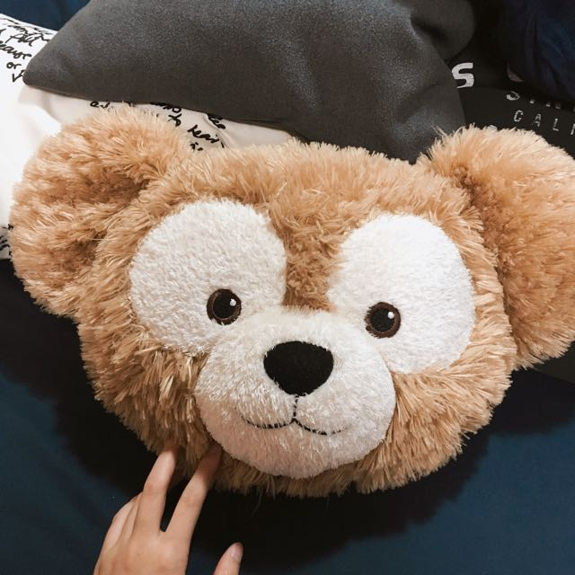 東京海洋迪士尼限定Duffy抱枕/靠墊/枕頭/二手