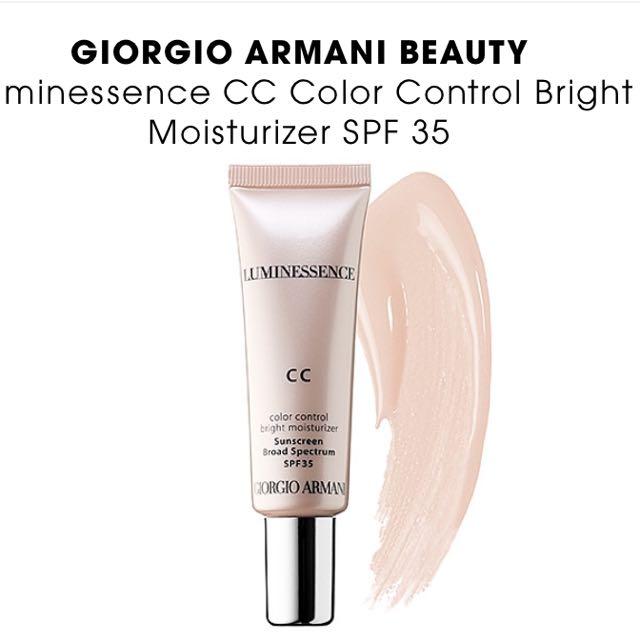 Giorgio Armani CC Cream