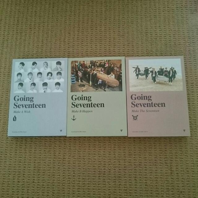Going Seventeen Albums