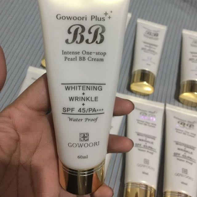 Gowoori Plus Intense One Stop Pearl BB Cream