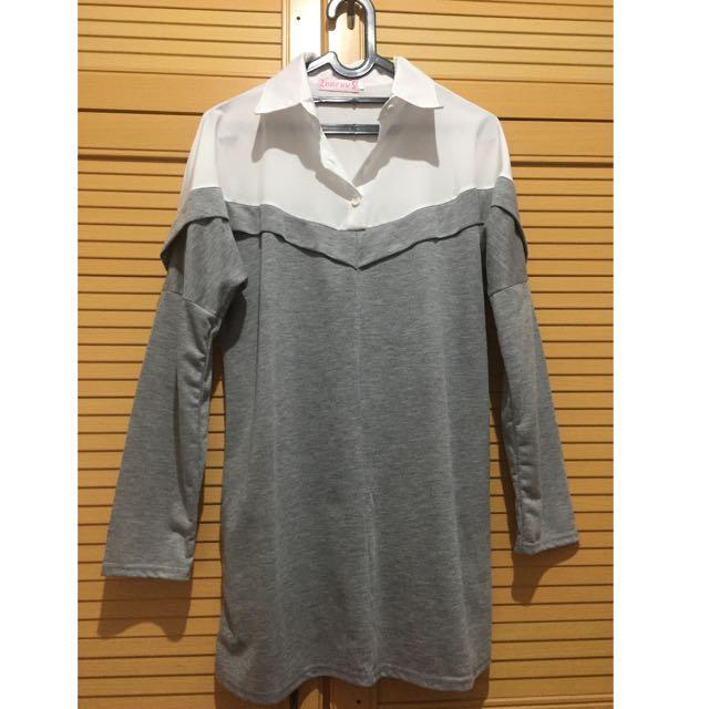 Grey V Two Color