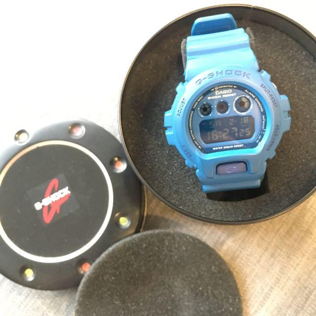 G-SHOCK(藍色控排隊商品)