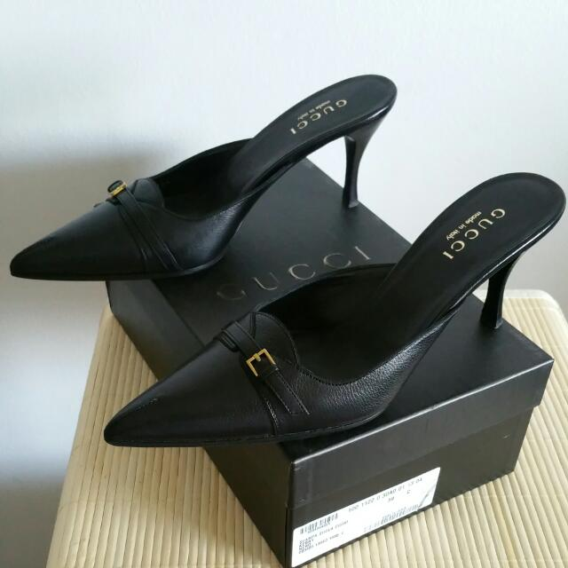 GUCCI Heels Pointy Shoes sz 39