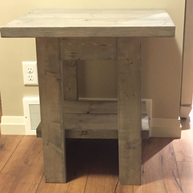 Handmade End Table